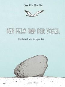 Fels und der Vogel