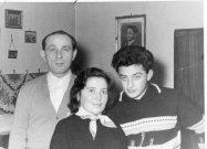 Roberts Großvater Iszidor, Pici und mein Vater Ivan
