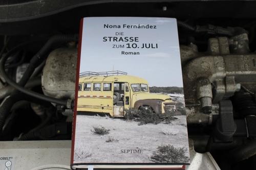 Nona Fernández Die Strasse zum 10. Juli Septime Verlag
