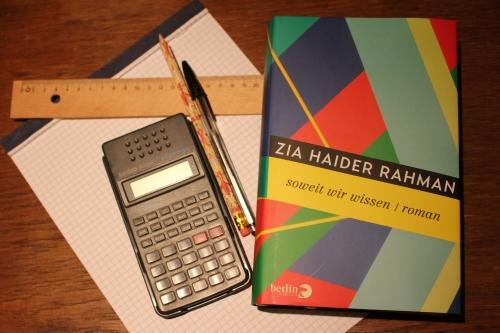 Zia Haider Rahman Soweit wir wissen Berlin Verlag