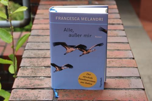 Francesca Melandri Alle außer mir Wagenbach