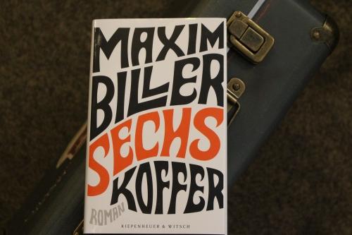 Maxim Biller Sechs Koffer Kiwi