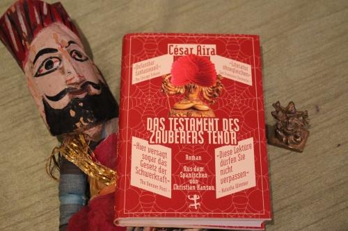 César Aira Das Testament des Zauberers Tenor Matthes & Seitz