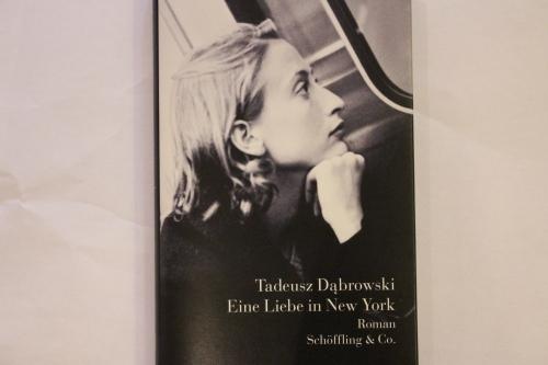 Tadeusz Dabrowski Eine Liebe in New York Schöffling