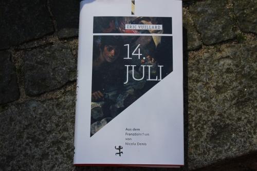 Eric Vuillard 14. Juli Matthes & Seitz