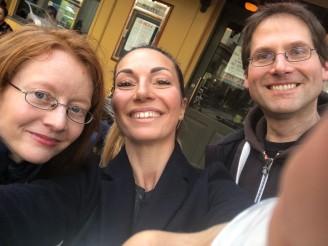 KATRINE, Sonja und ich