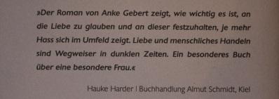 Hauke Harder zitat Anke Gebert Wo du nicht bist Pendragon